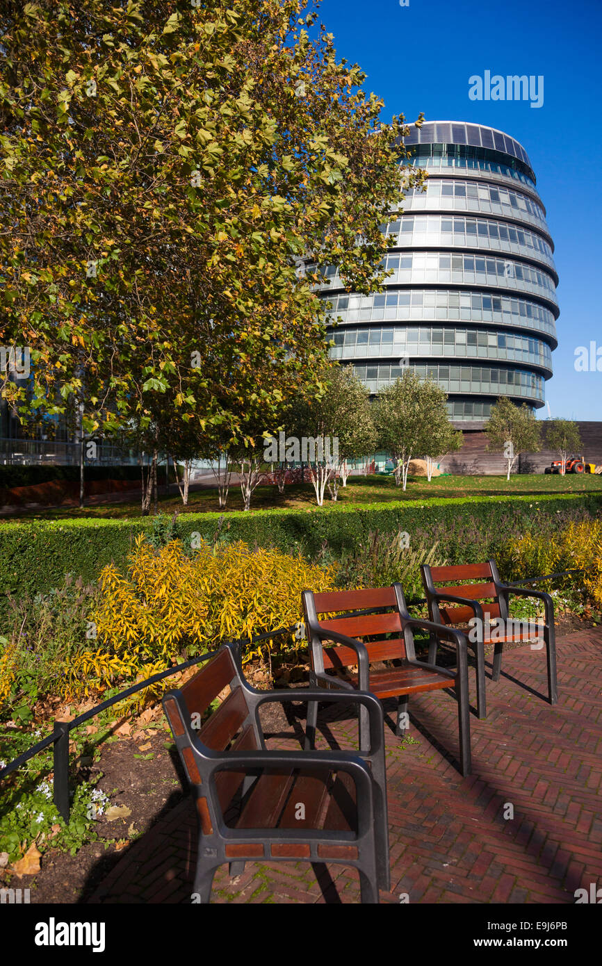 London Assembly building, City Hall, The Queens Walk, London, SE1, UK - Stock Image