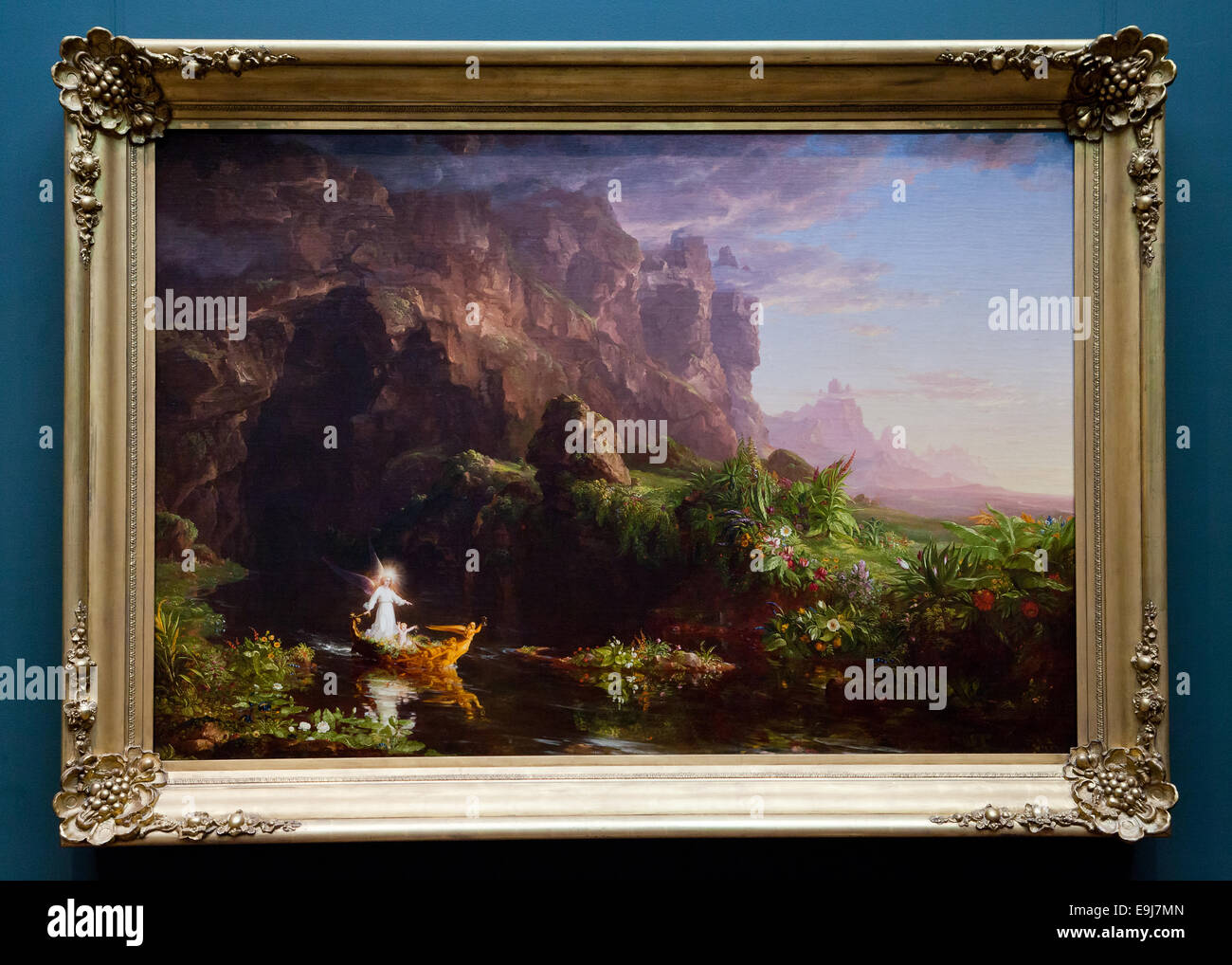 The Voyage of Life by Thomas Cole, 1842 - Stock Image