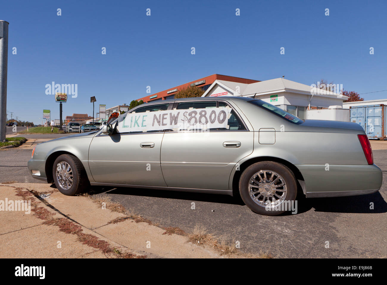 Used Car Sale Owner Usa Stock Photos Used Car Sale Owner Usa Stock