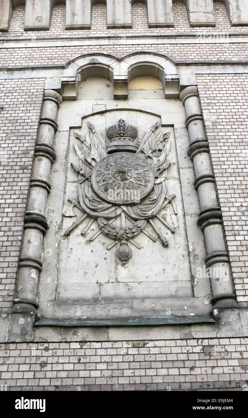heraldic relief - Stock Image