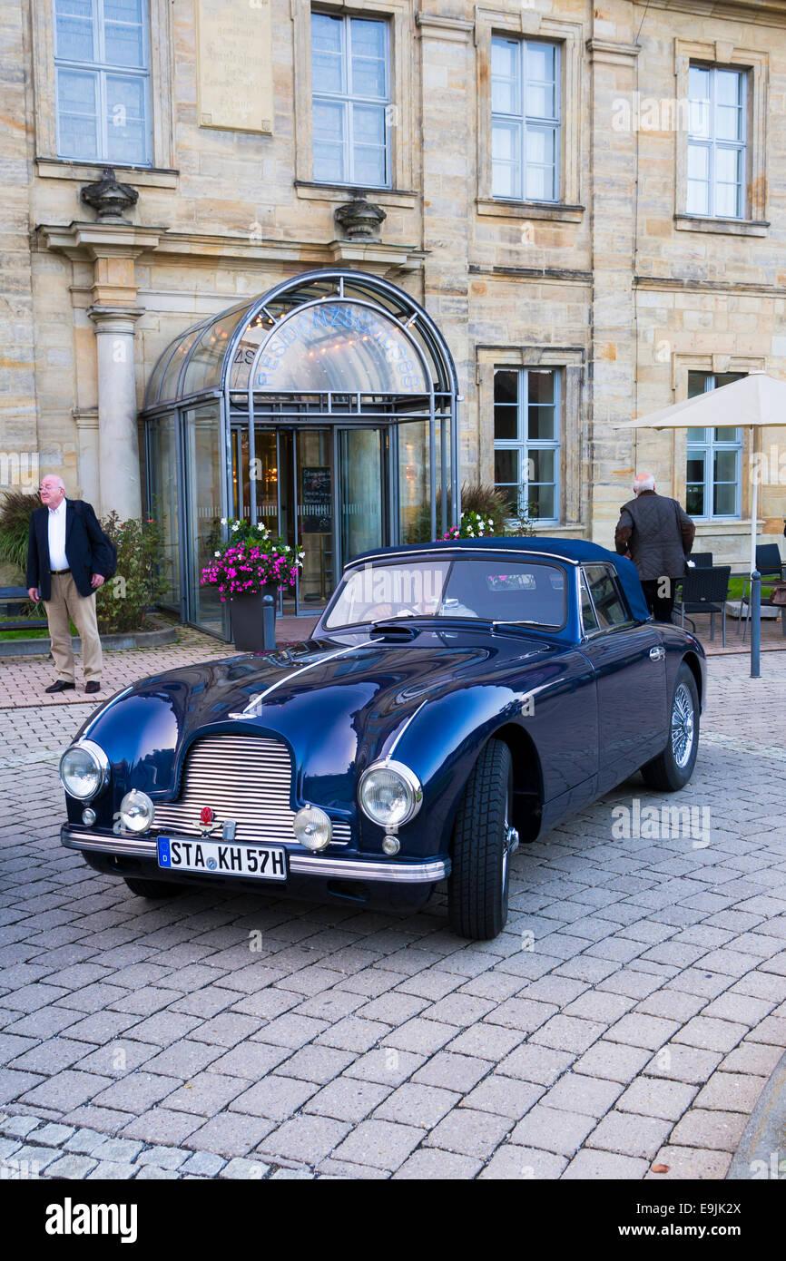 Aston Martin DB2 Drophead, Bamberg, Upper Franconia, Bavaria, Germany - Stock Image