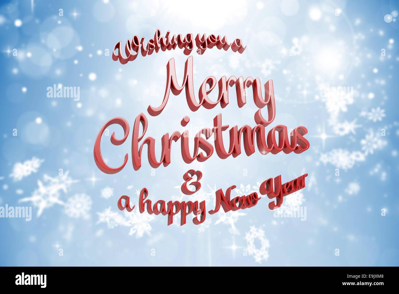 Merry Christmas Text Message Stock Photos & Merry Christmas Text ...