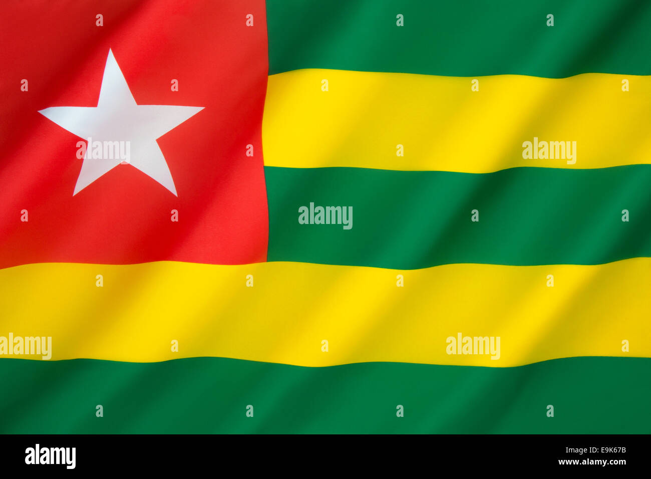 Flag of Togo - Stock Image