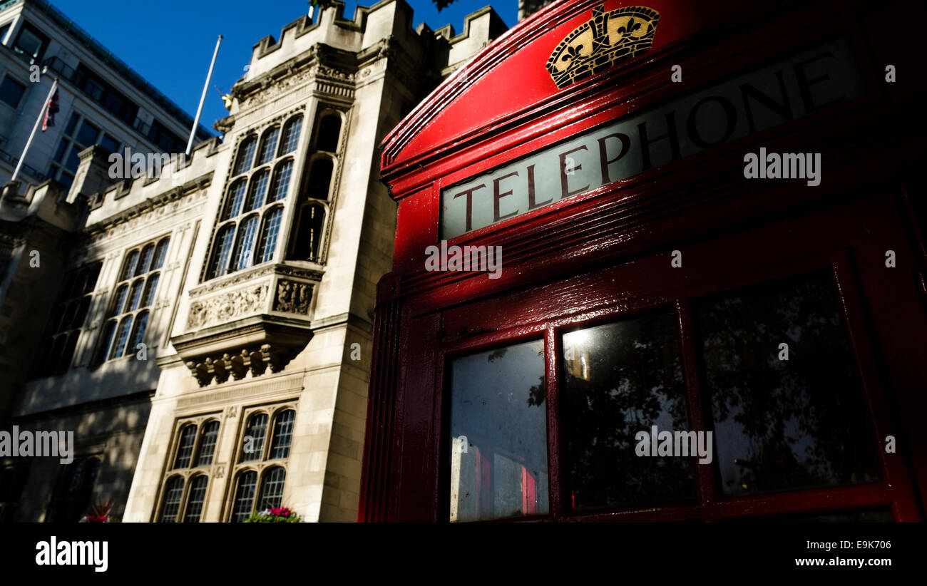 London Red Phone Box - Stock Image