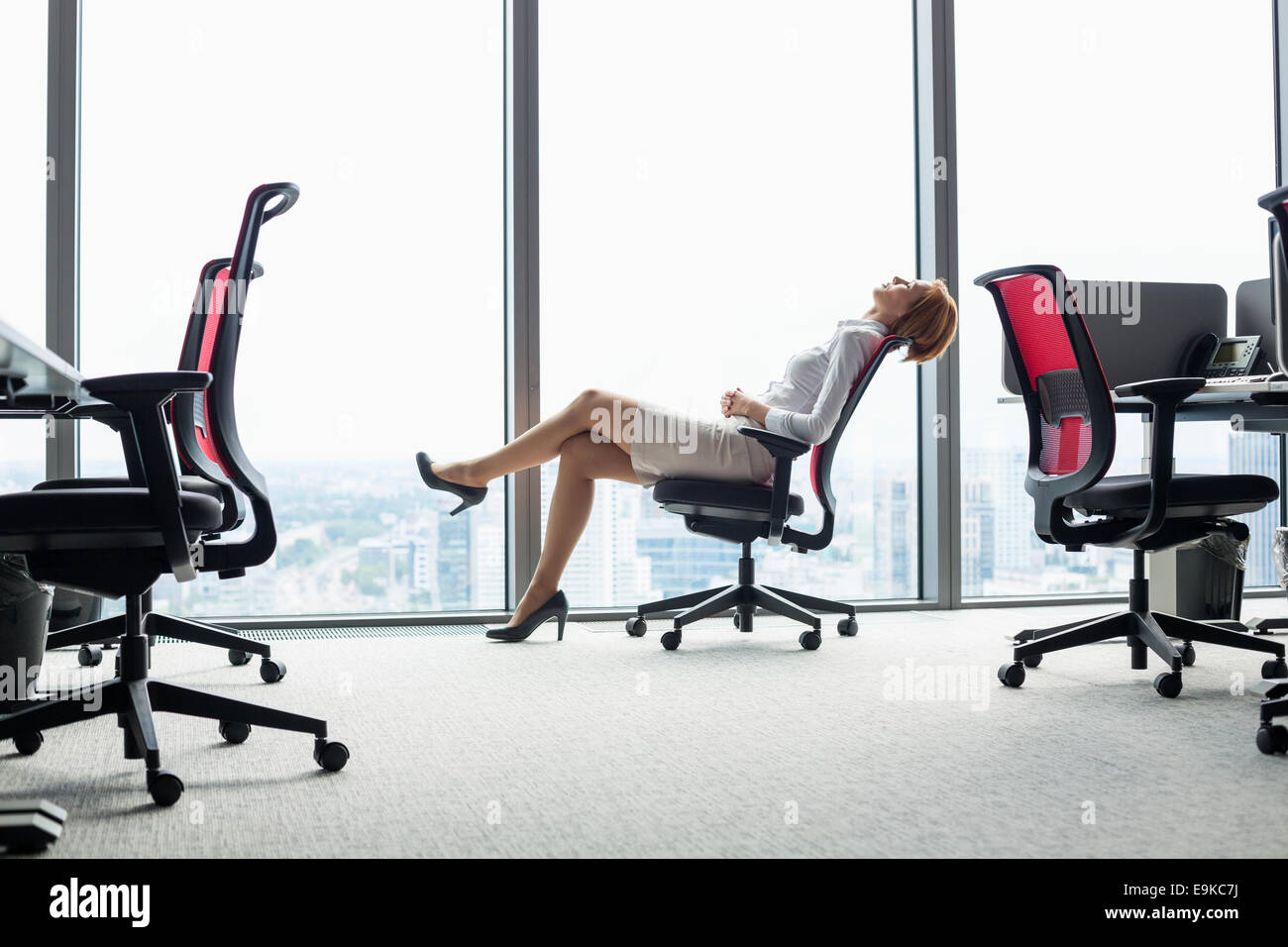Leaning Back Stock Photos Leaning Back Stock Images Alamy