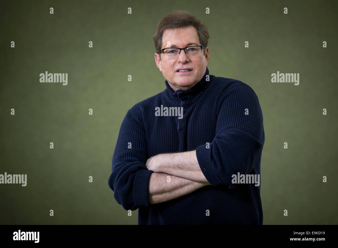 Singer, cabaret performer and author Craig Pomranz appears at the Edinburgh International Book Festival. - Stock Image