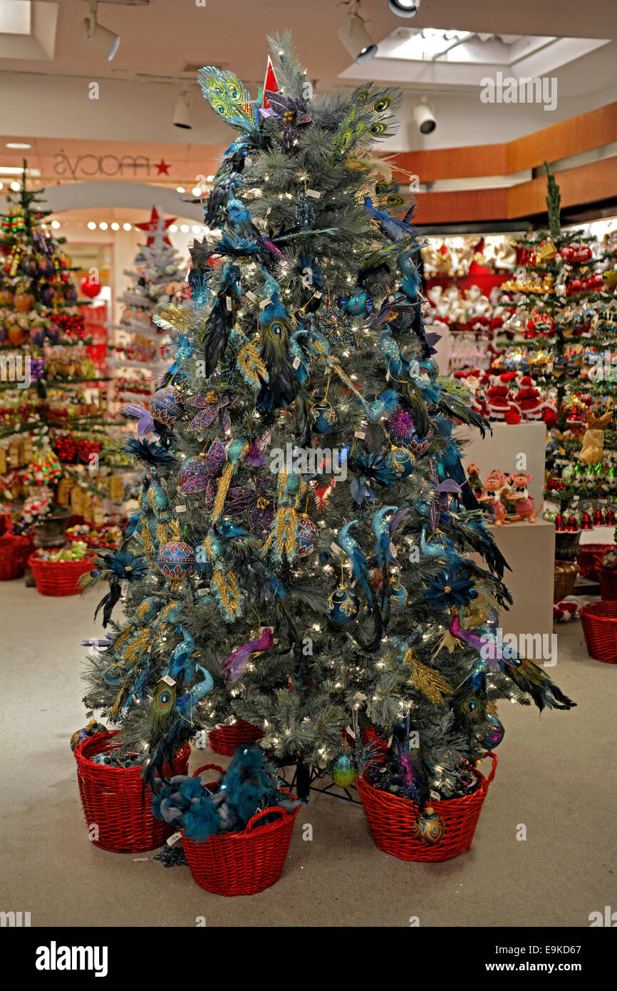 Macys Christmas Tree.Christmas Tree Ornaments For Sale At Macy S Department Store