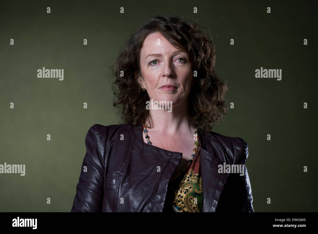 Northern Irish author Michele Forbes appears at the Edinburgh International Book Festival. - Stock Image