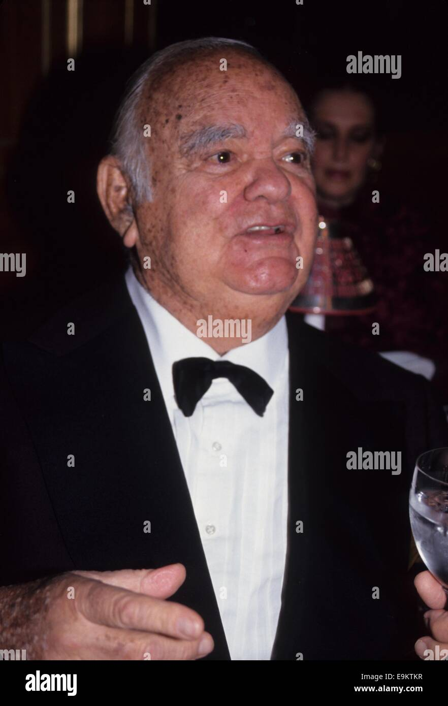 CHARLES SIMON 1992.Top Dog Gala at Animal Medical Center.l4356. © Andrea Renault/Globe Photos/ZUMA Wire/Alamy - Stock Image