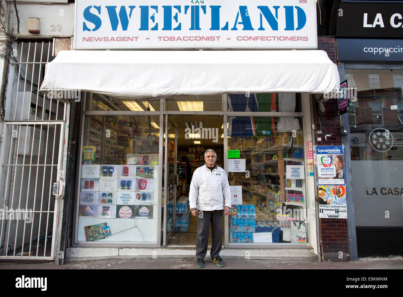 'Sweetland' confectioners, Harlesden, Northwest, London, England, UKJ - Stock Image
