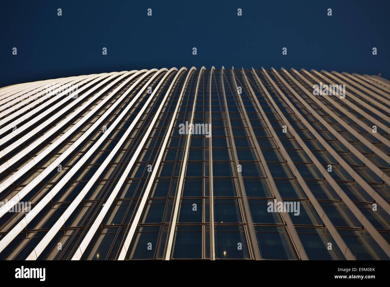 20 Fenchurch Street, London, UK the ealkie talkie building - Stock Image