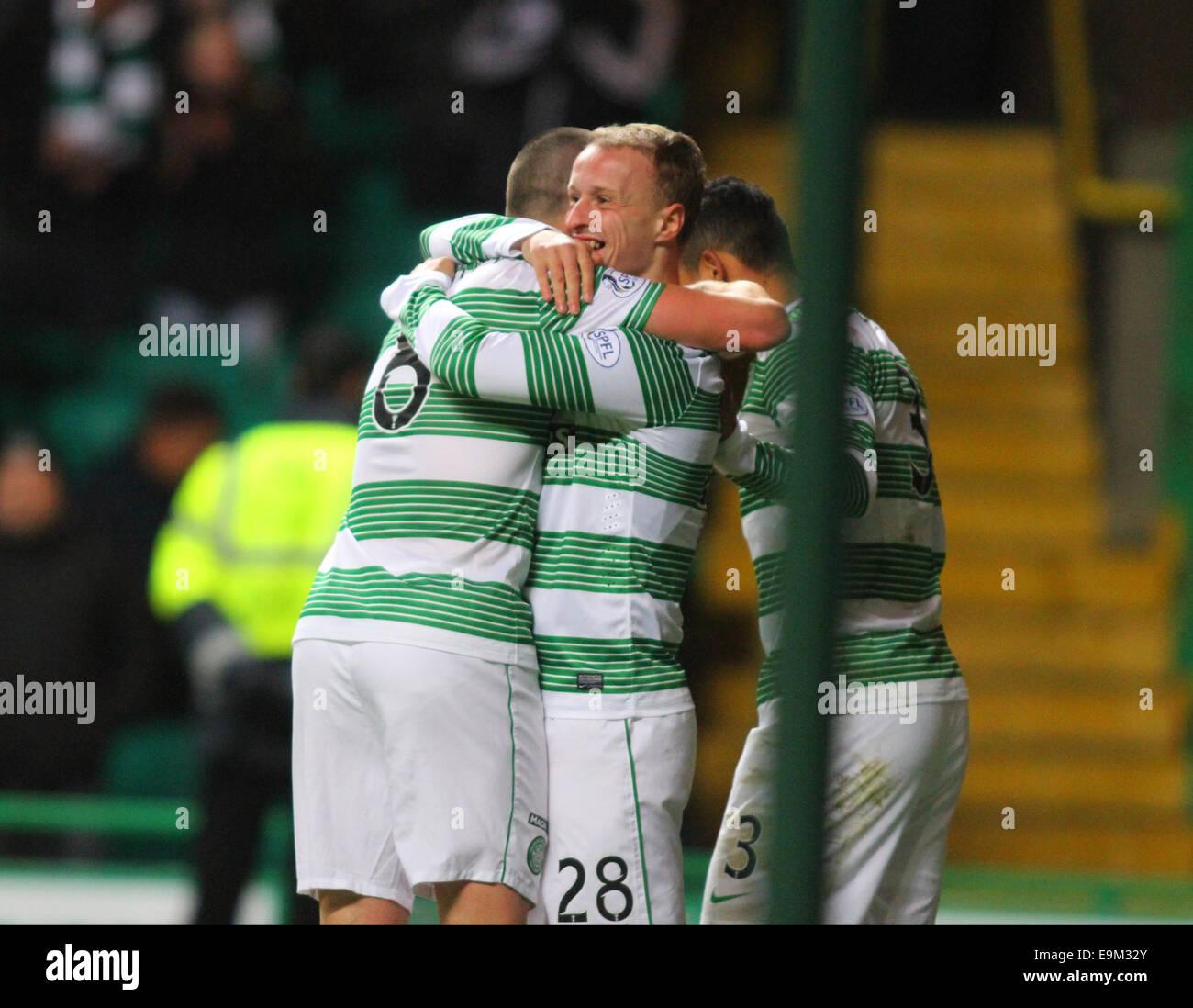 Glasgow, Scotland. 29th Oct, 2014. Scottish League Cup. Celtic versus Partick Thistle. Credit:  Action Plus Sports/Alamy - Stock Image
