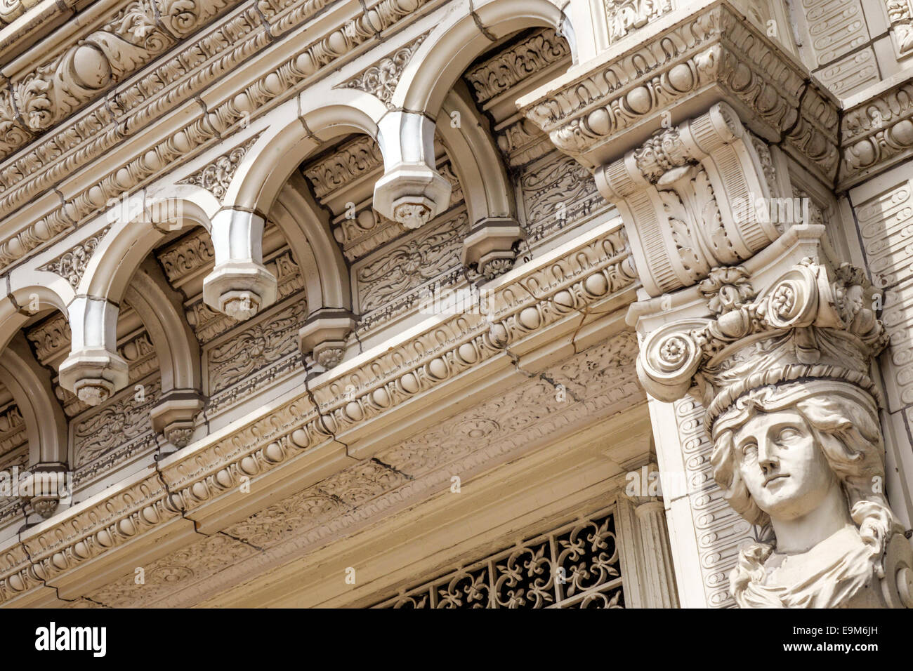 St. Louis Missouri Saint Railway Exchange Building high rise office building Chicago school architectural style - Stock Image