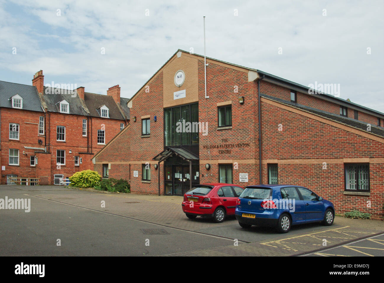 The Venton Centre, Northampton, UK; owned by Age UK Northamptonshire and housing one of their lifetime centres. - Stock Image