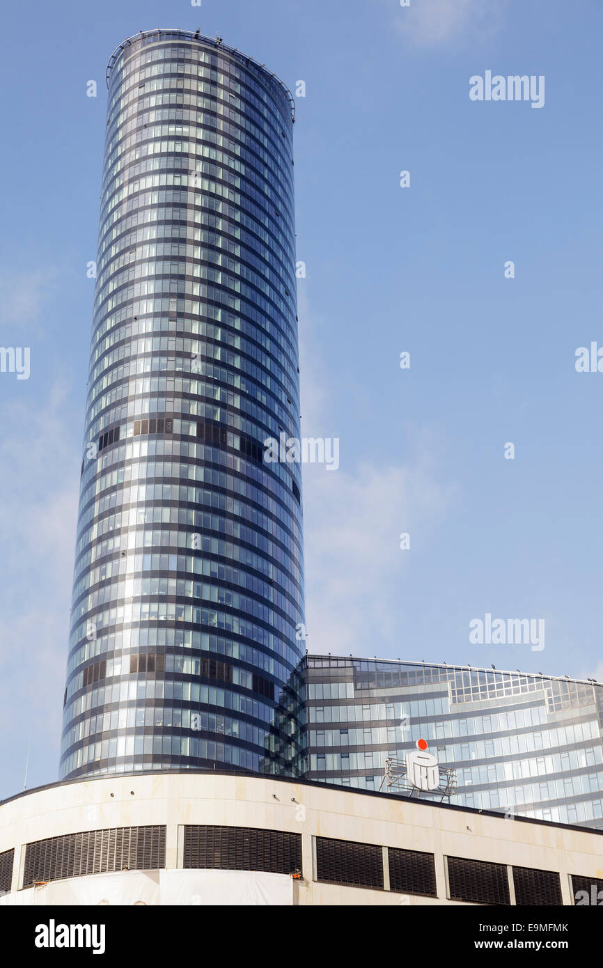 Sky Tower, Wroclaw, Poland - Stock Image