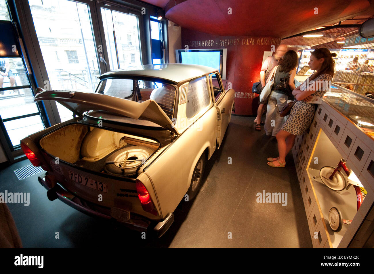 Germany, Berlin, DDR Museum, a museum opened in 2006 to recall the everyday life of former East Germany - Stock Image
