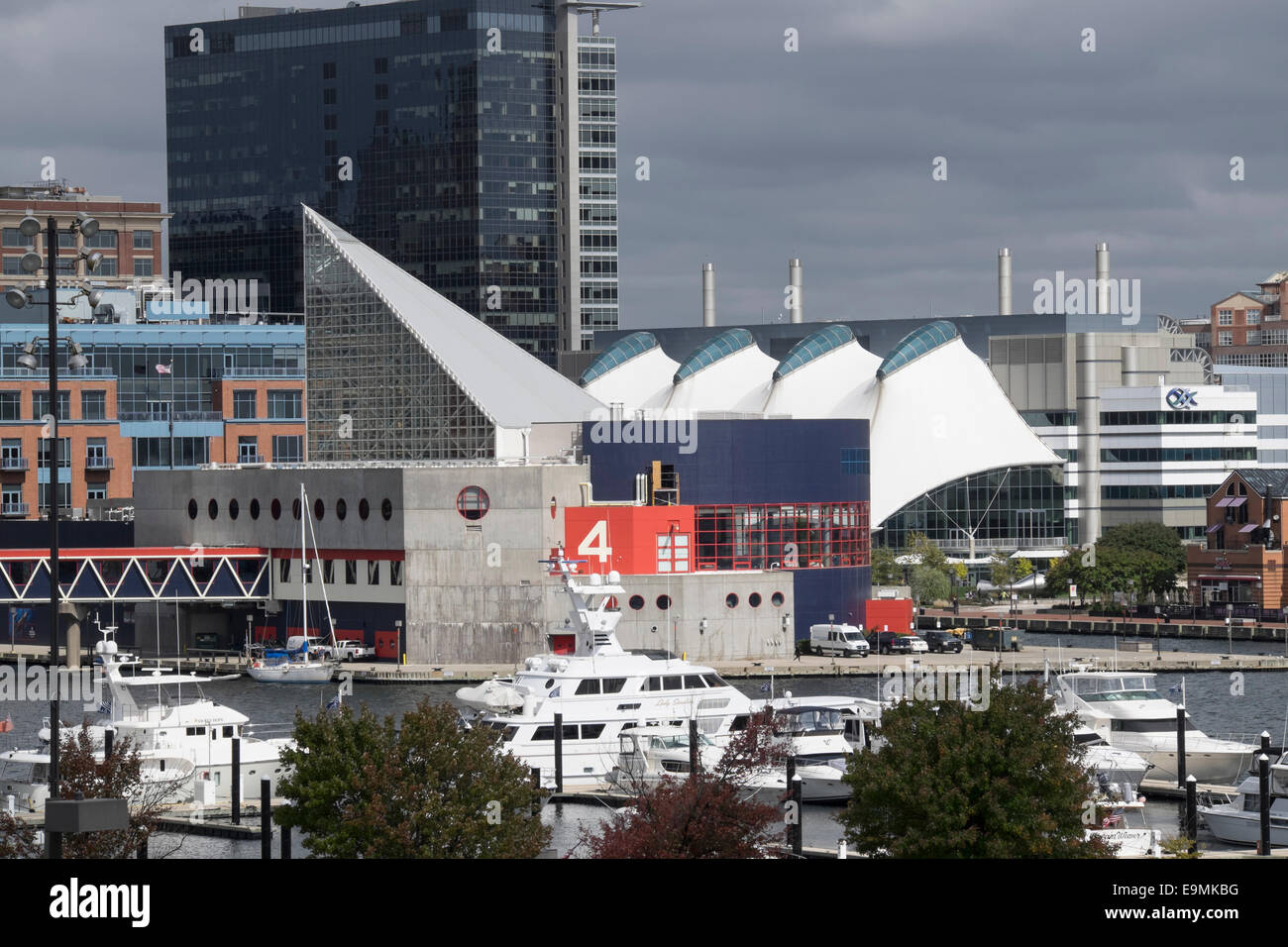 United States, Maryland, Baltimore, Inner Harbor - Stock Image