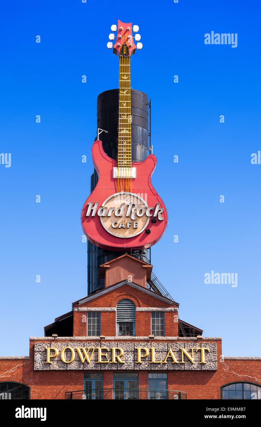 Baltimore Power Plant Hard Rock Cafe at Inner Harbor Pier