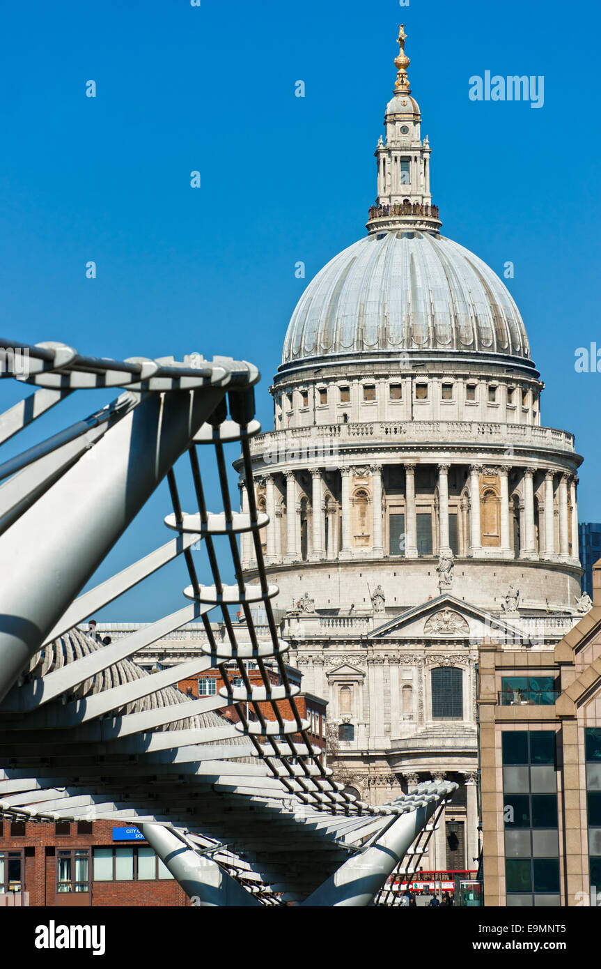 St Paul Cathedral, London, UK. - Stock Image