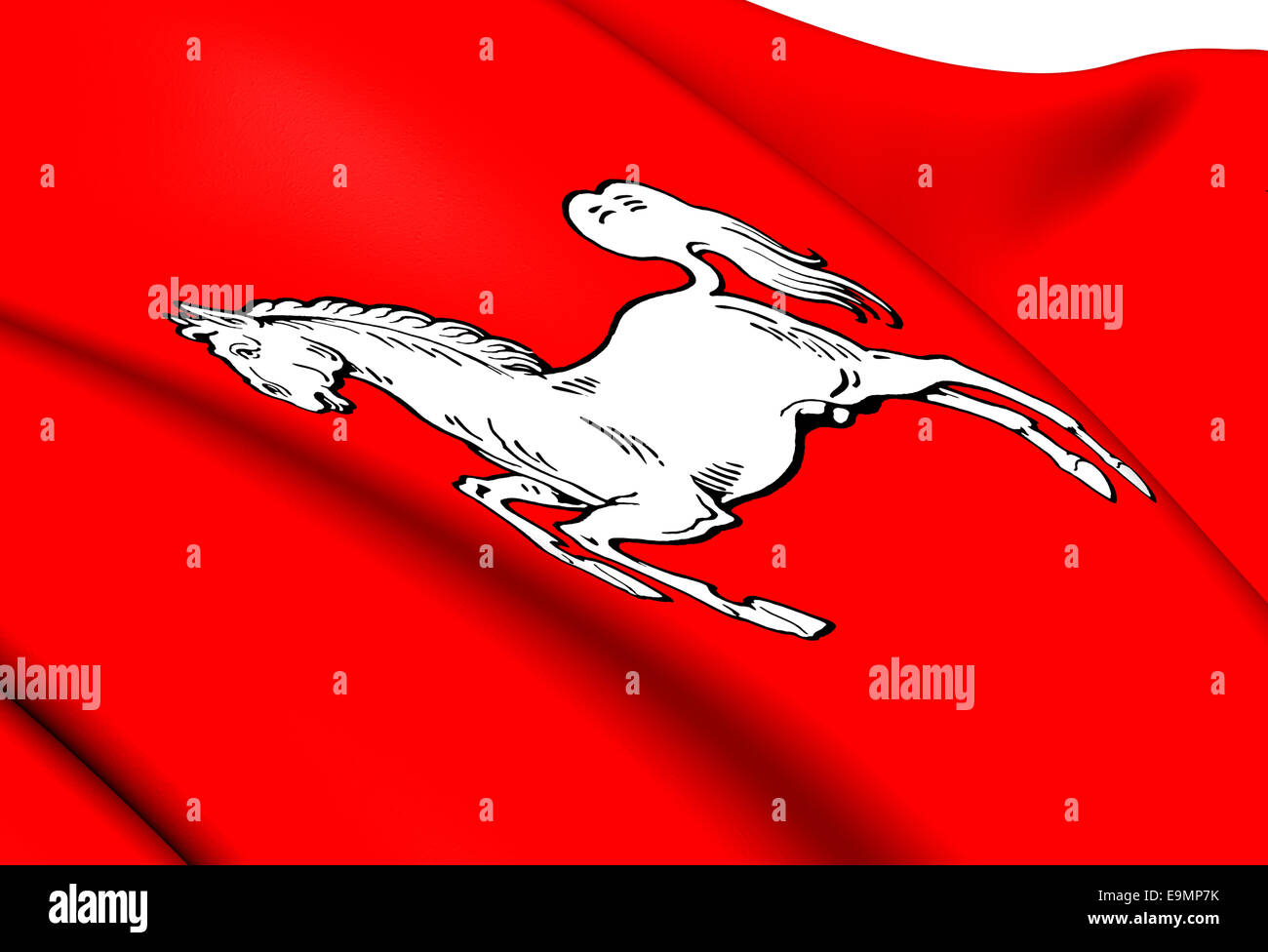 Electorate of Hanover Flag - Stock Image