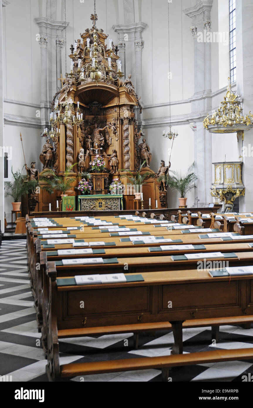 St Maria church, Cologne, Germany Stock Photo