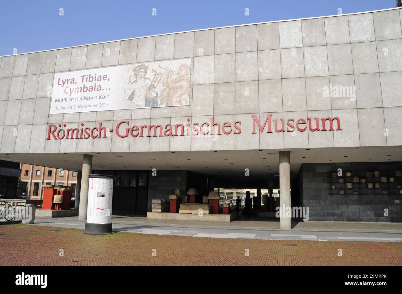 Roman-Germanic Museum, Cologne, Germany Stock Photo