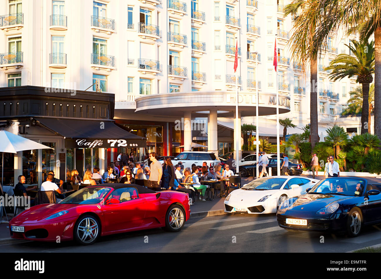 Luxuru Cannes - Stock Image