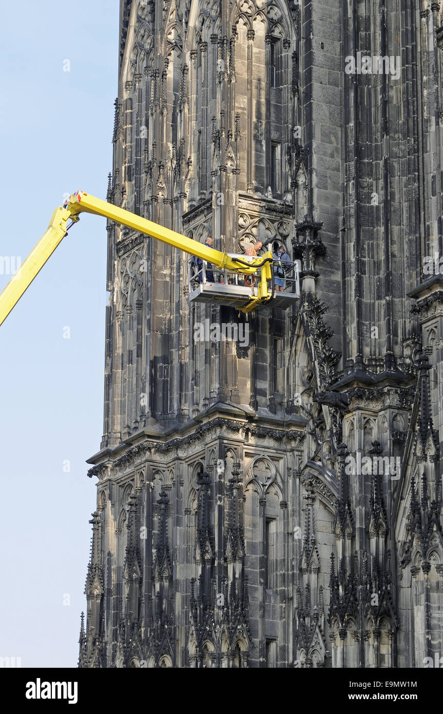 Cathedral, Cologne, Germany - Stock Image