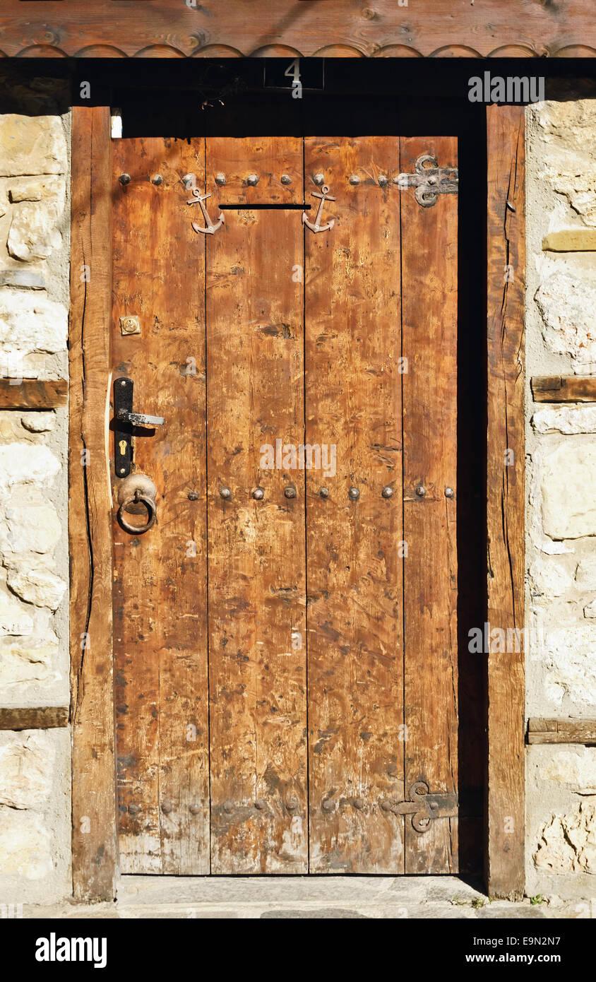 Door - Stock Image & Plank And Batten Door Stock Photos u0026 Plank And Batten Door Stock ...