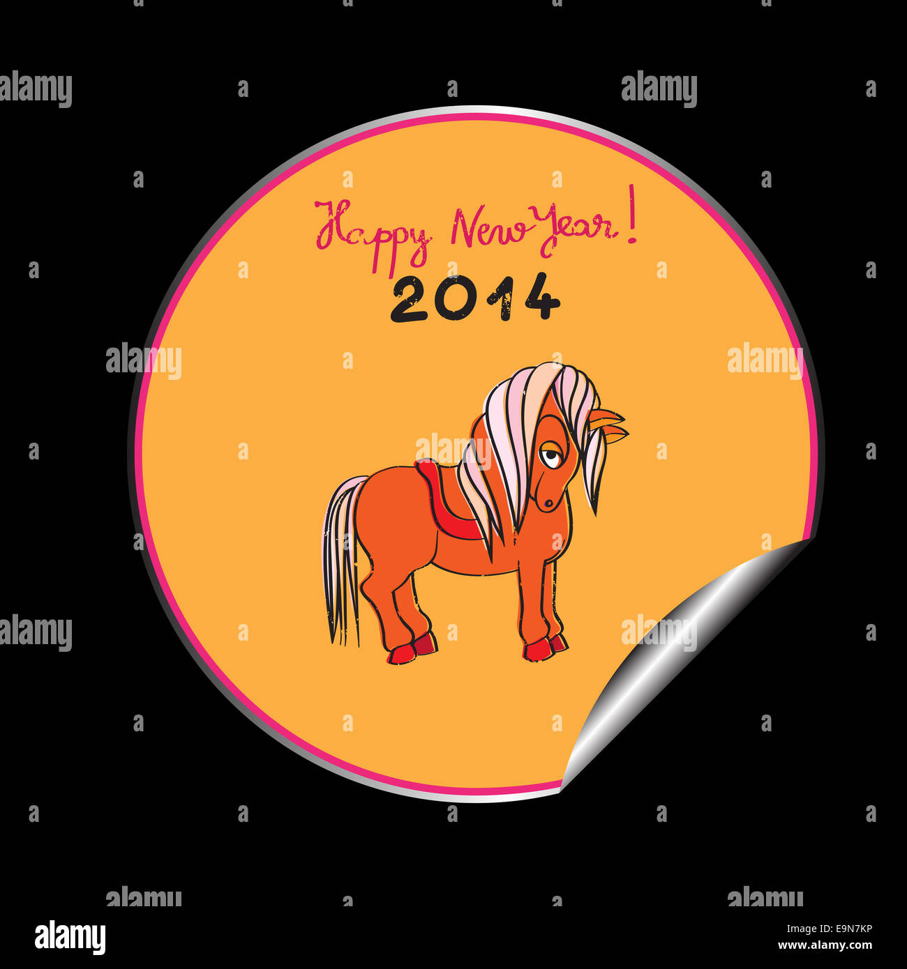 Happy New Year Horse Images 24