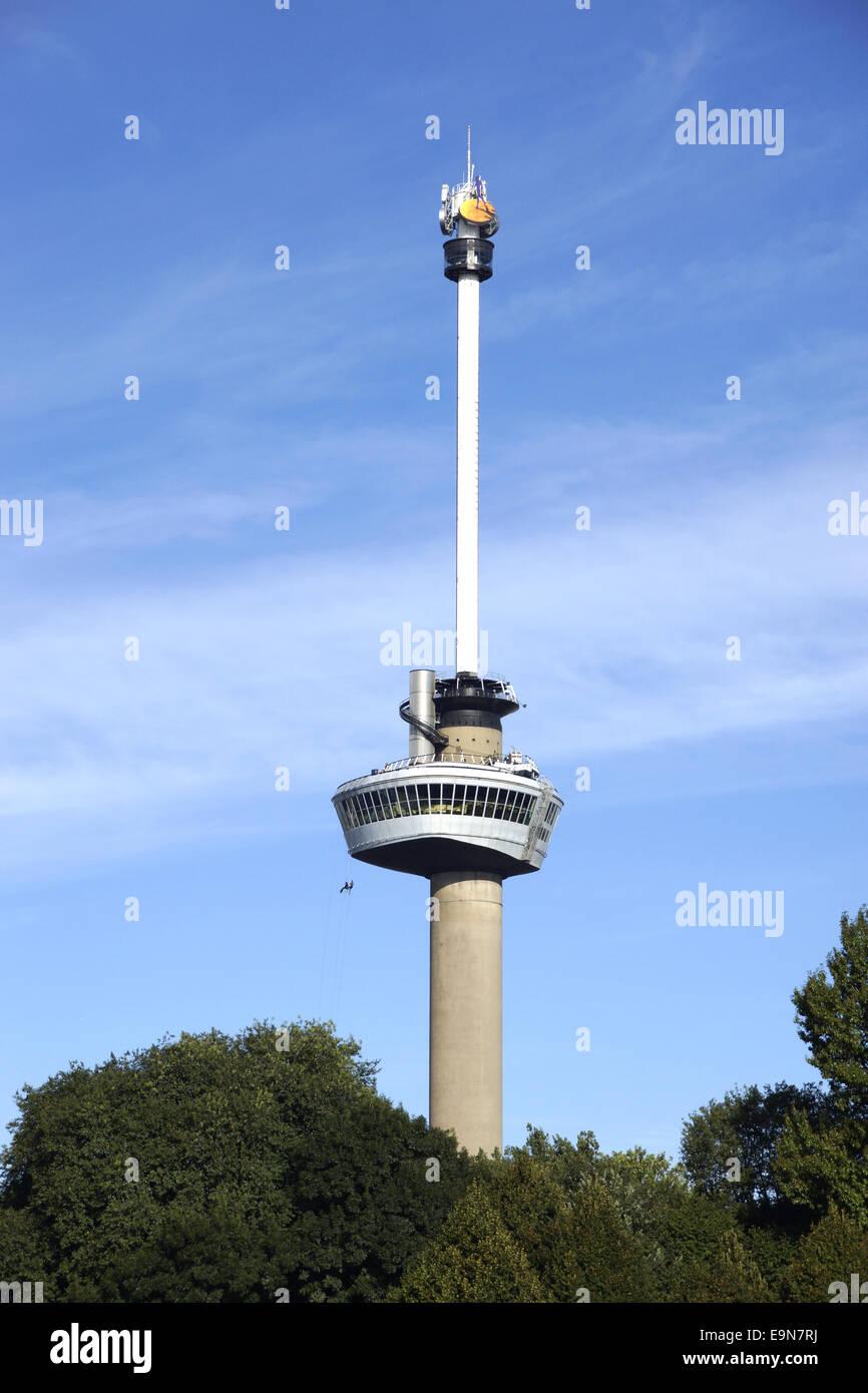 Euromast Rotterdam, Netherlands Stock Photo