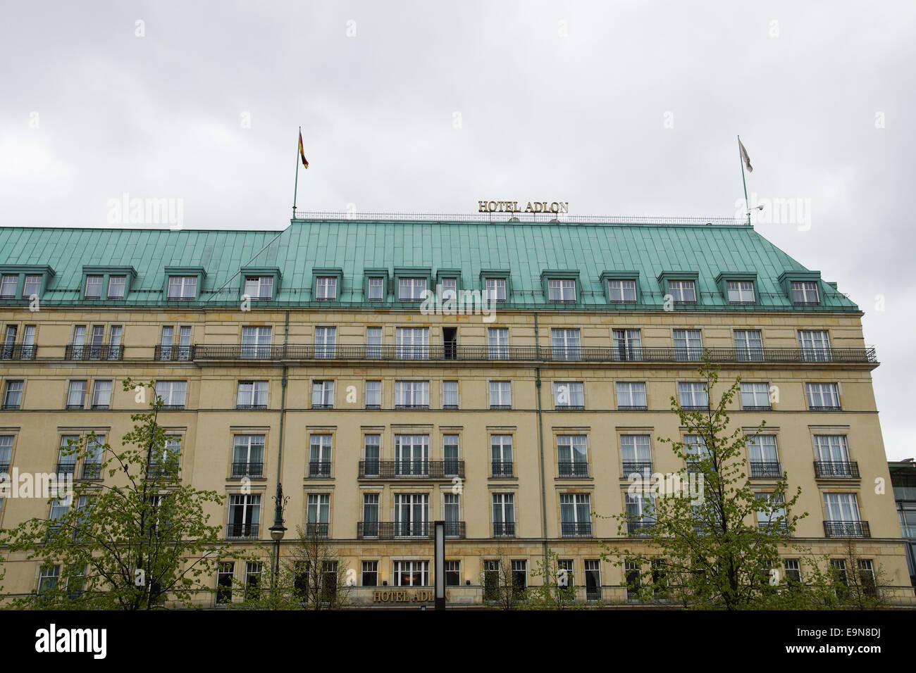 Hotel Adlon Kempinski in Berlin, Deutschland - Stock Image