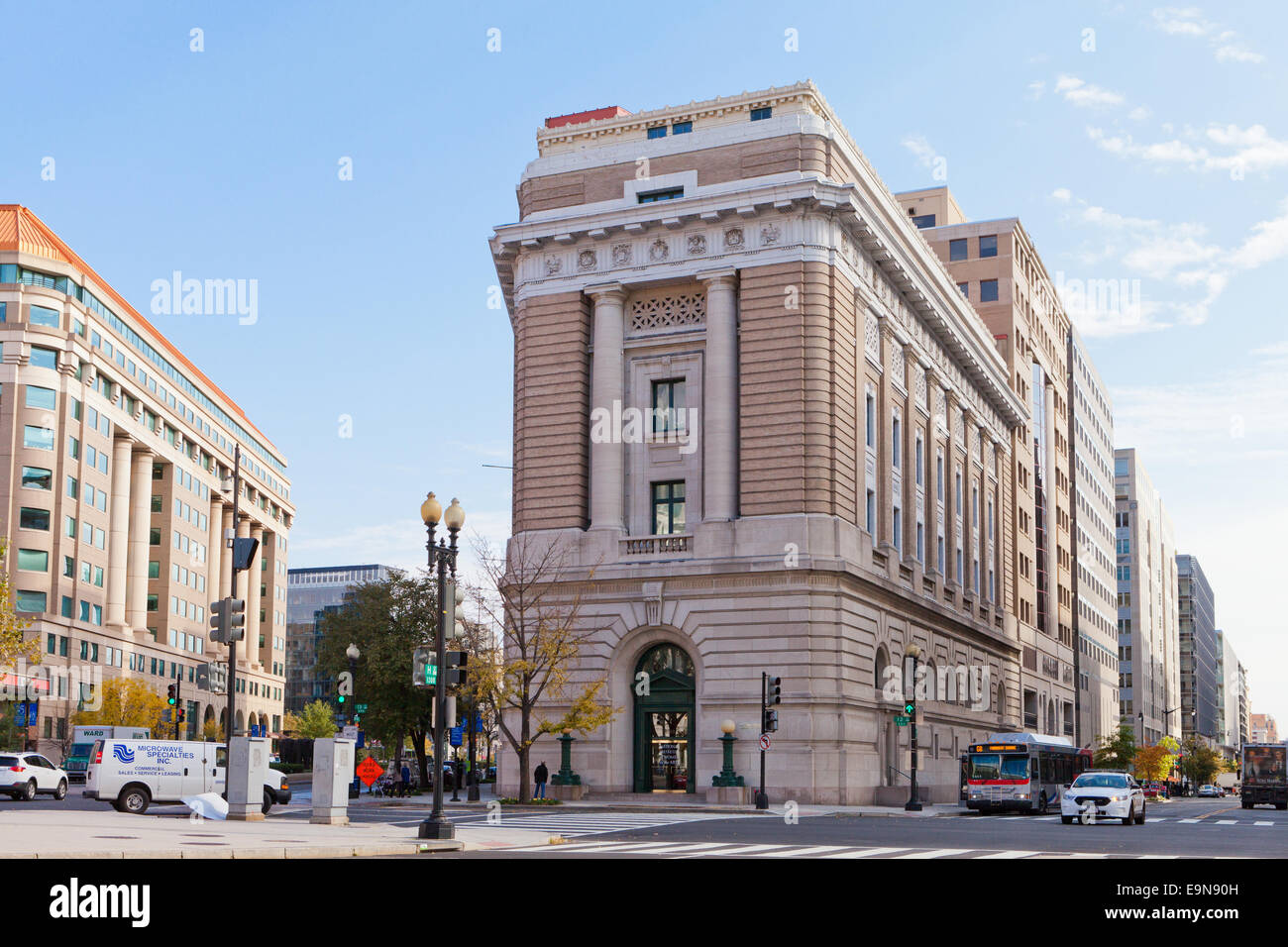 National Museum of Women in the Arts - Washington DC, USA - Stock Image