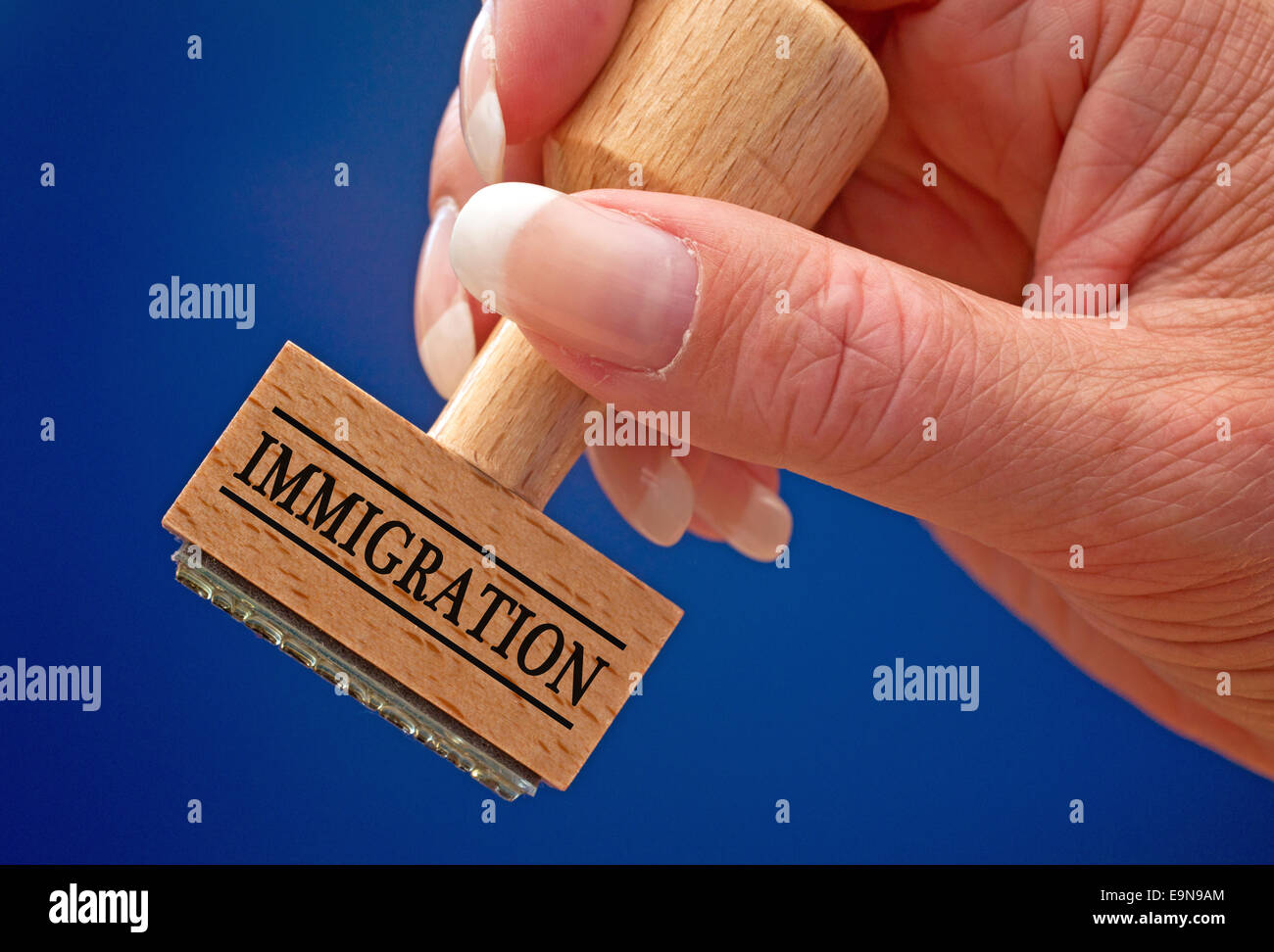 Immigration - Stock Image