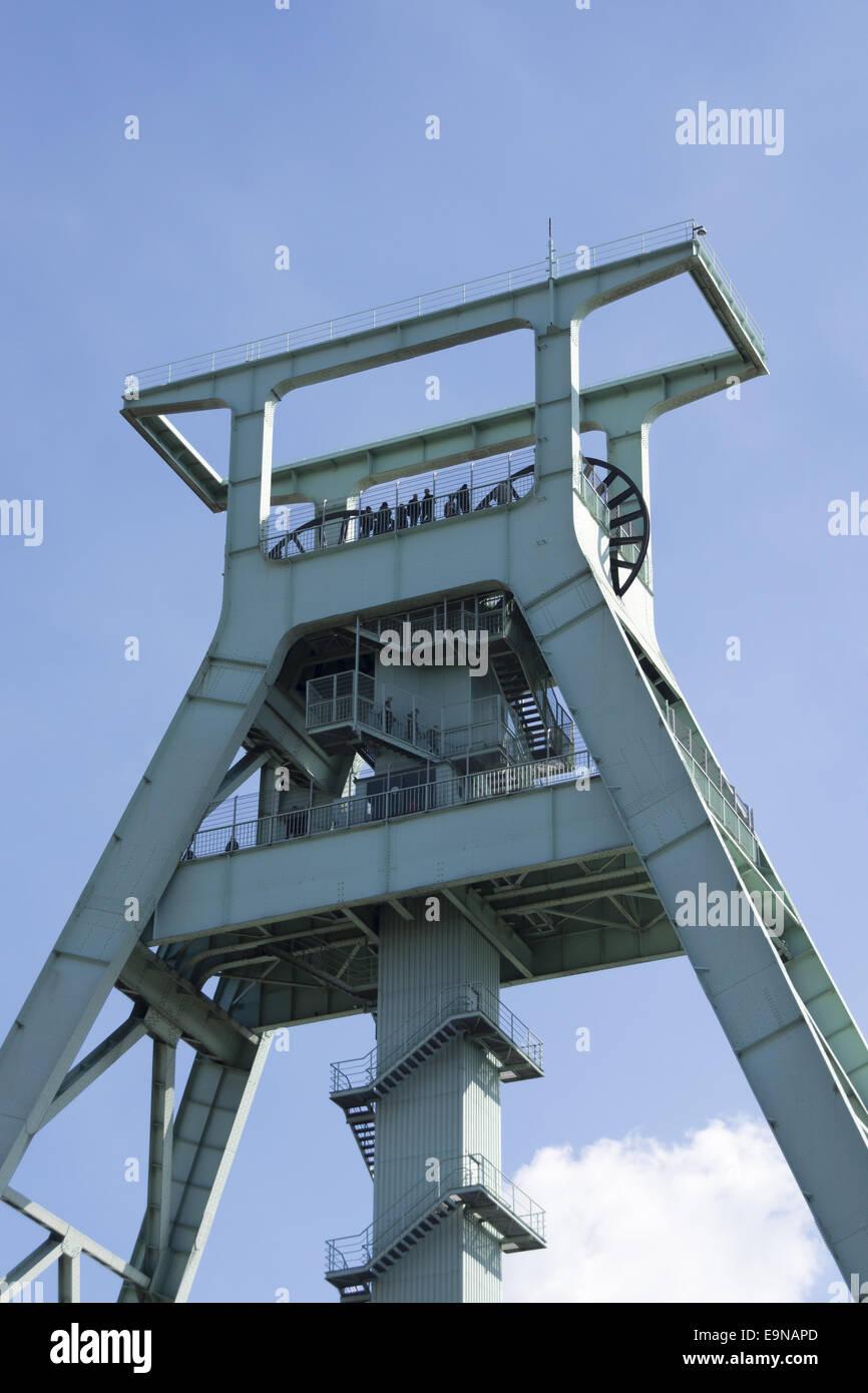 German mining museum in Bochum, Germany Stock Photo