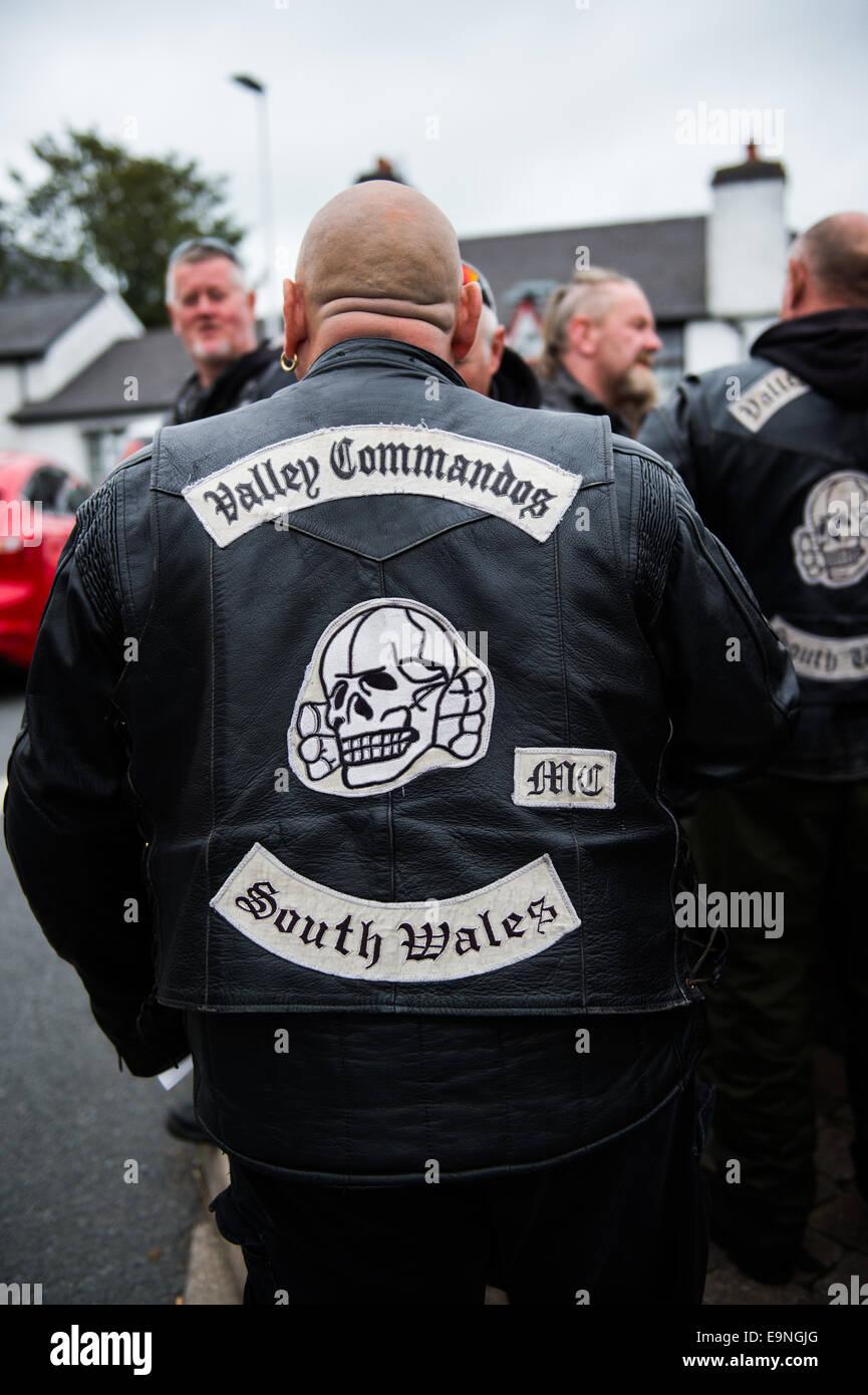 Valley Commandos' south wales motorbike club group 'Biker Bash