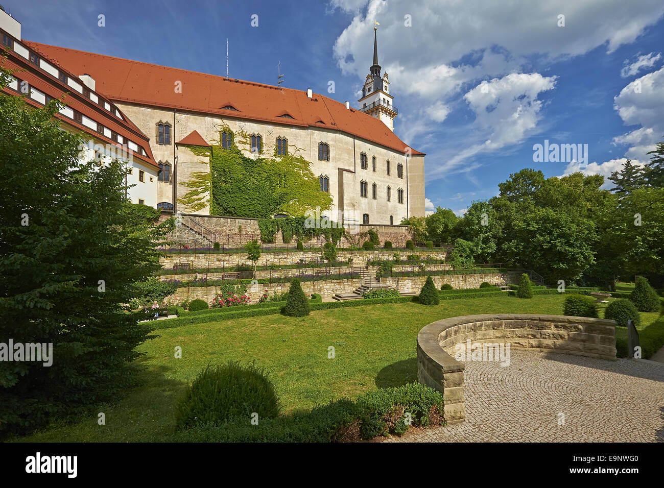 Castle Hartenfels, Torgau, Germany Stock Photo