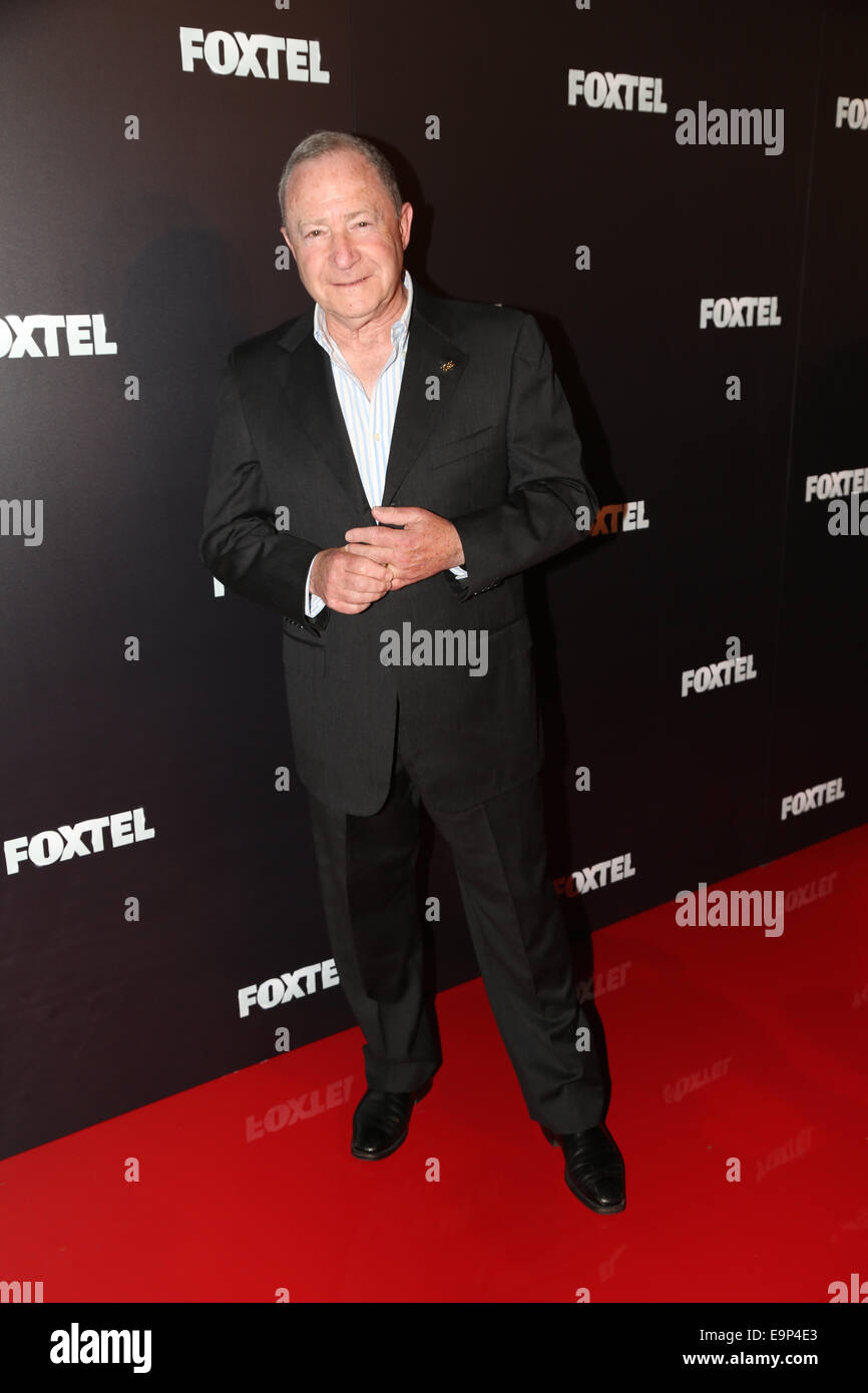 Sydney, Australia. 30th October, 2014. Steve Liebmann arrives on the red carpet for the annual Foxtel MCN 2015 Upfronts. - Stock Image