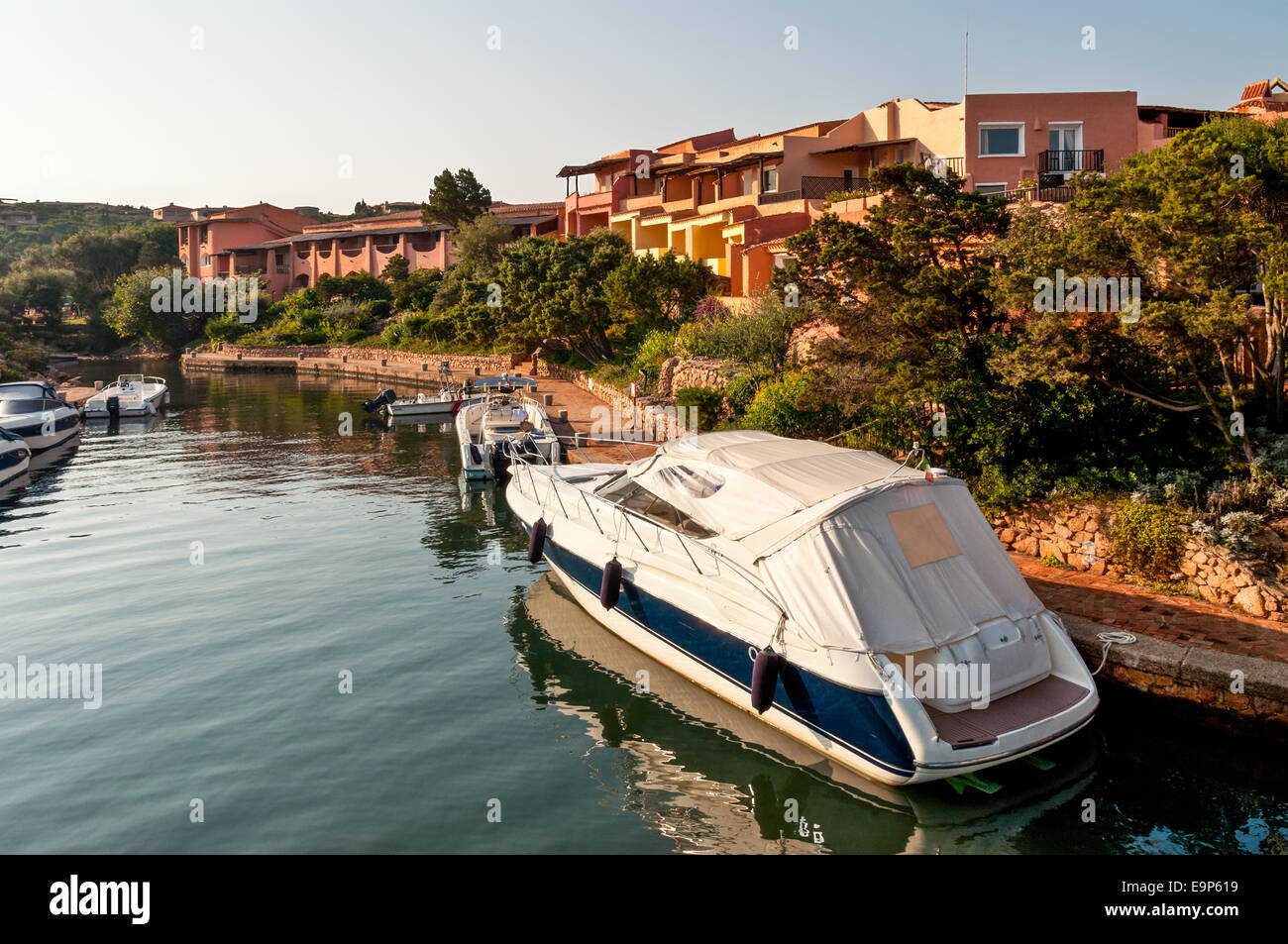 Typical architecture in Northern Sardinia, Italy - Stock Image