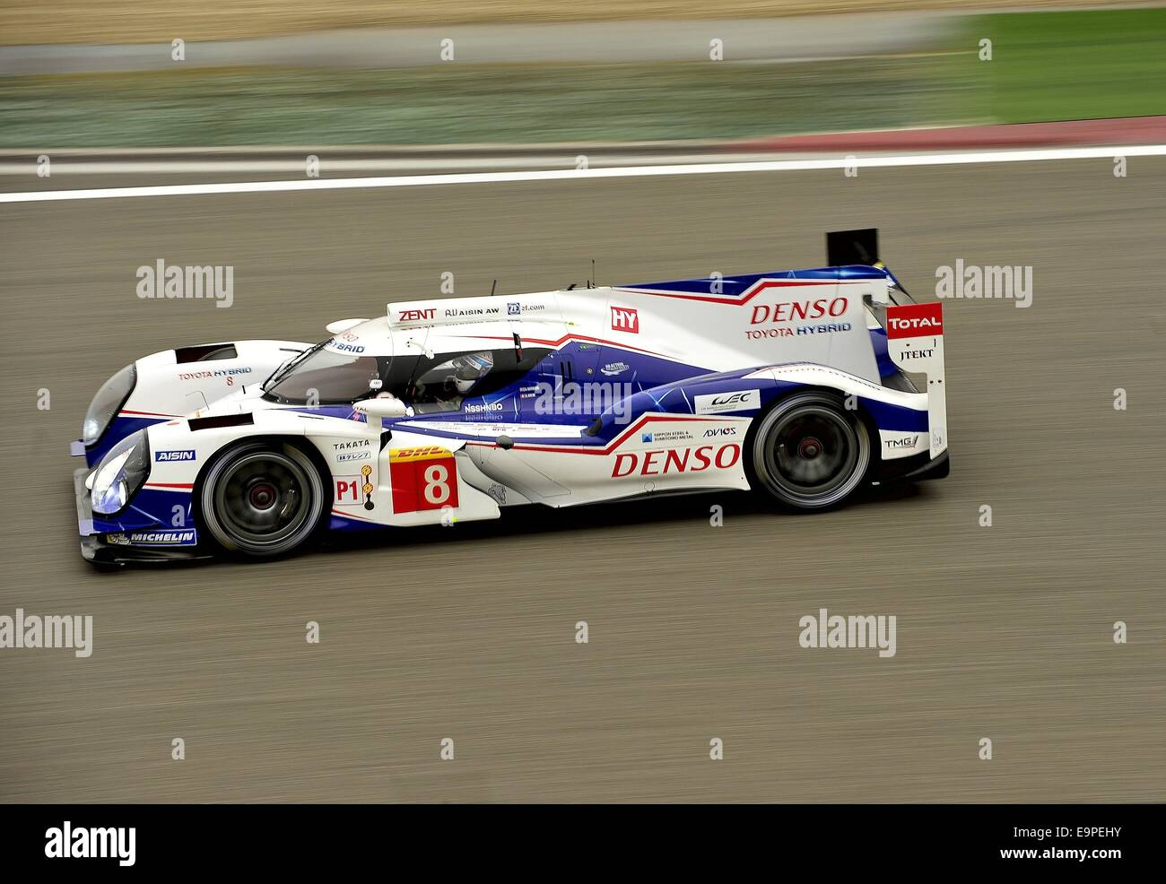 Shanghai, China. 31st October, 2014. Toyota Racing, Toyota TS 040 - Hybrid, ANTHONY DAVIDSON, GBR (driver) - 2014 - Stock Image
