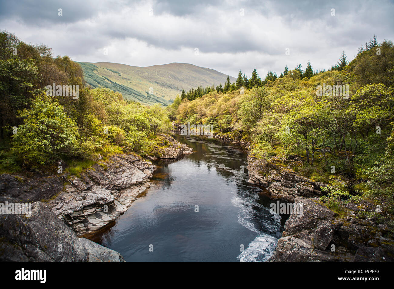 River Orchy, Scottish Highlands - Stock Image