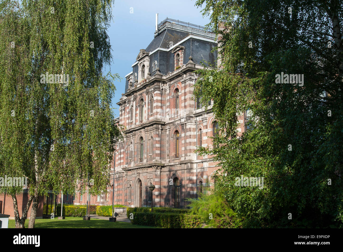 Haute Ecole, Mons, Hennegau, Wallonie, Belgien, Europa | high school, Mons, Hennegau, Wallonie, Belgium, Europe - Stock Image