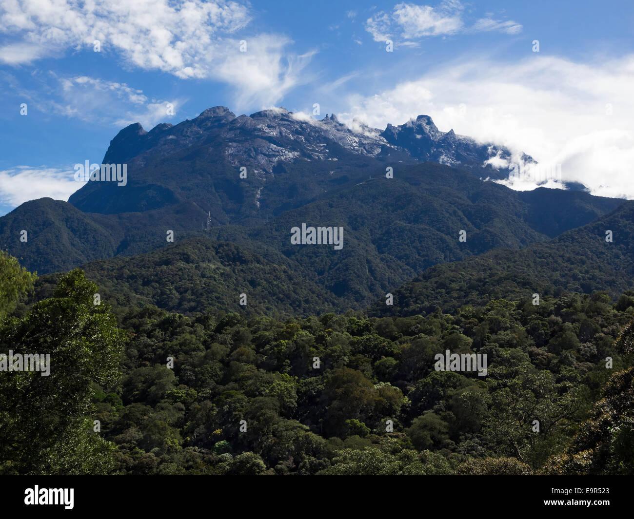 Mount Kinabalu, the highest peak in the Malay Archipelago, Sabah, East Malaysia. - Stock Image