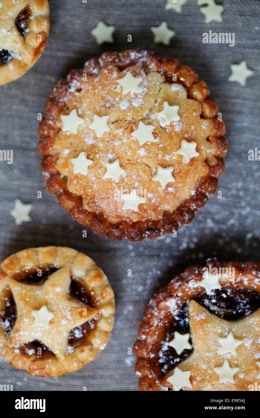 Mince pies - Stock Image