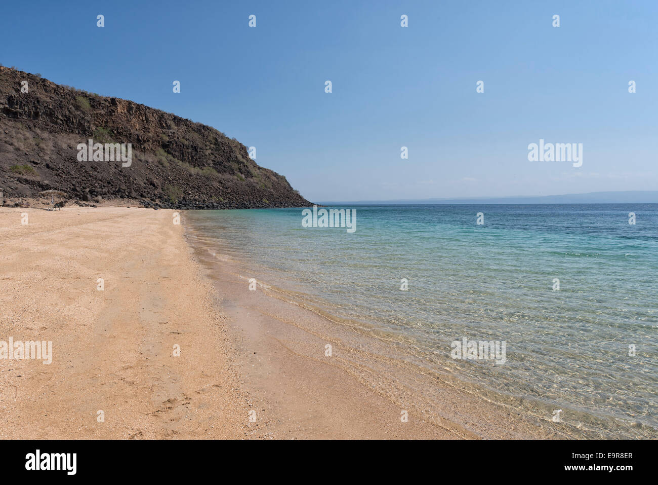 Les Sables Beach, Djibouti - Stock Image