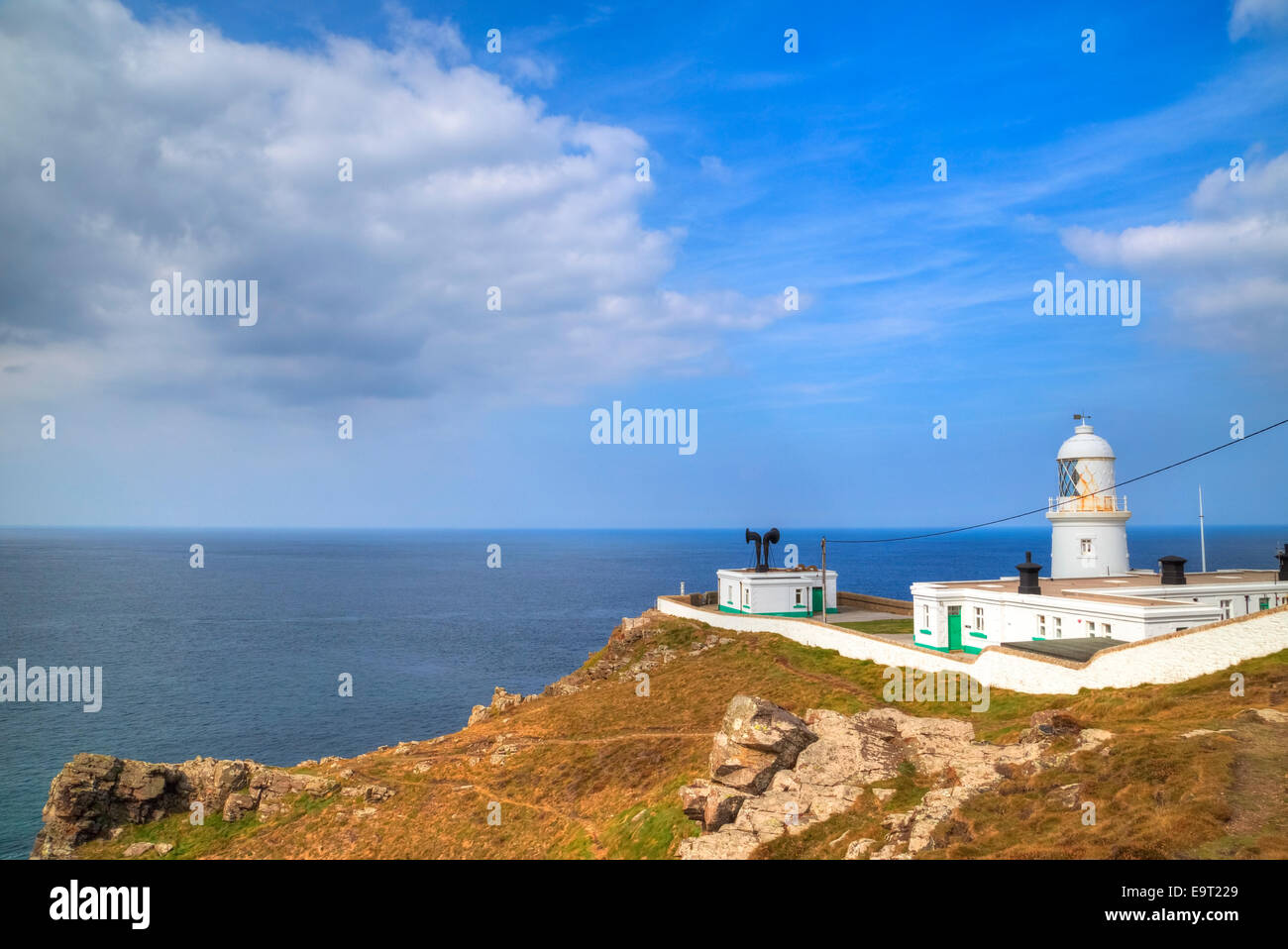 Pendeen Watch, Cornwall, England, United Kingdom - Stock Image