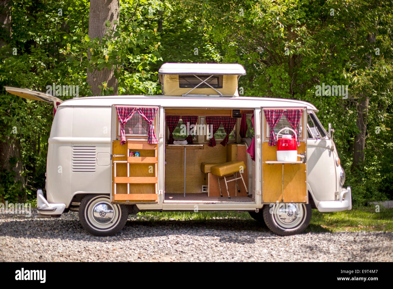 VW Bus - Stock Image