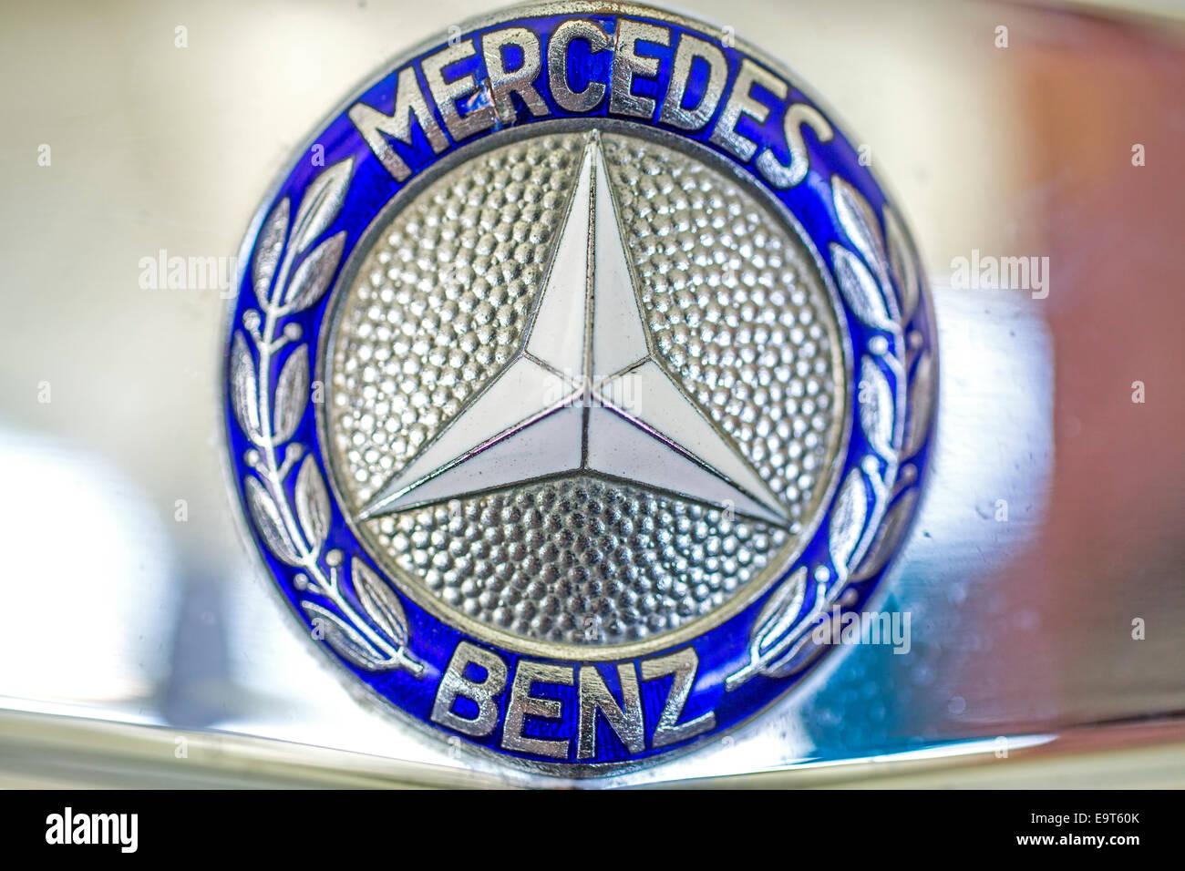 Mercedes Benz - Stock Image