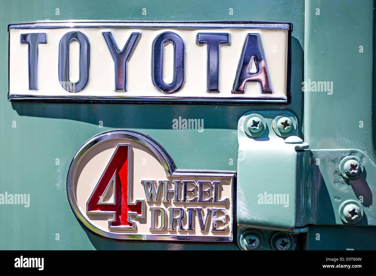 Toyota 4 wheel drive - Stock Image