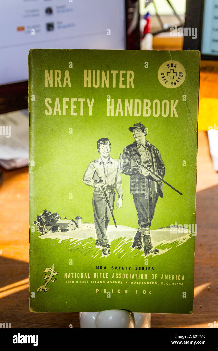 9167676ee3d The National Rifle Association Hunter Safety Handbook from 1959 a revision  of the 1957 handbook -